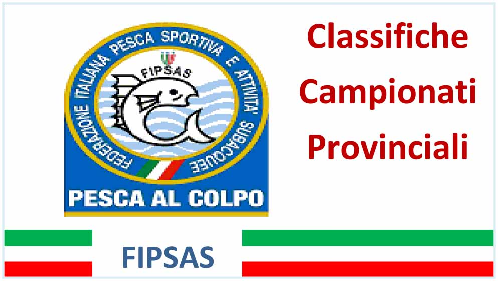 Classifica Prov. Colpo