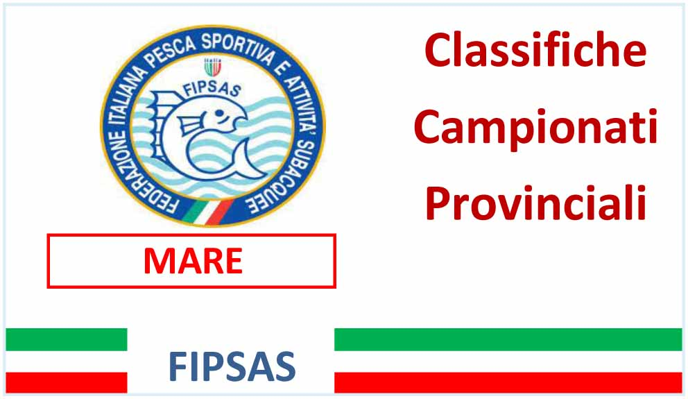 Classifica Prov. Mare